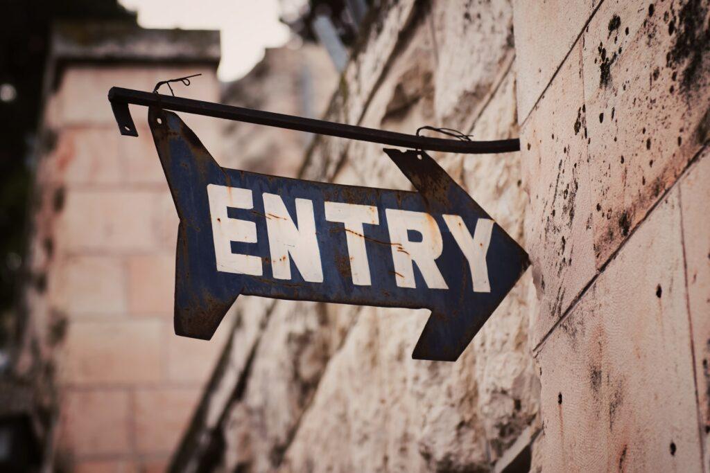 Eingang Jerusalem